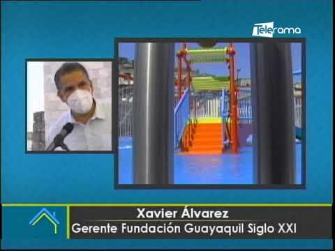 En Guayaquil inauguran porque acuático en Cdla. Martha de Roldós