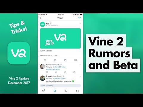 Vine 2 Rumors & How to Join Beta