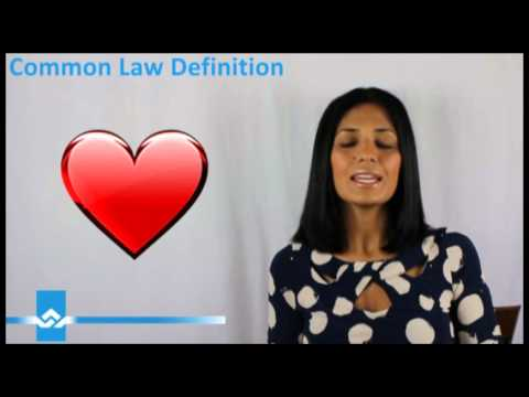Definition of Common Law Video