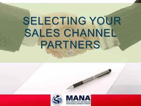 Selecting Sales Channel Partners