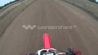 7. Honda CRF450R top speed and near stack