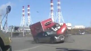 Жесткие аварии Март 2017