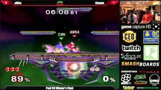 Apex 2014 POOLS aMSa (Yoshi) VS Chudat (Ice Climbers) -One of the most intense last stock situations ever