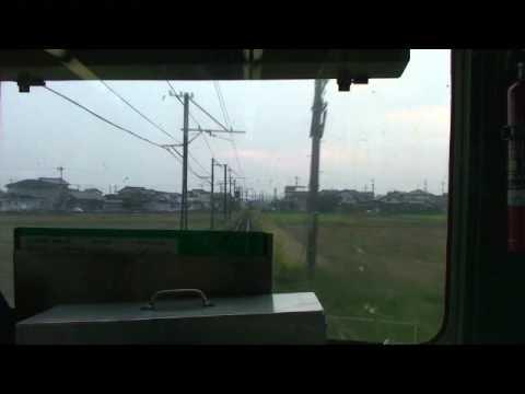 富山地鉄14720形 前面展望 寺田-越中荏原