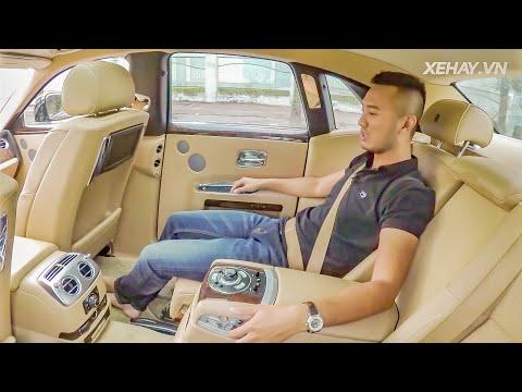 Trải nghiệm làm ông chủ trên sedan siêu sang Rolls-Royce Ghost series I giá 11 tỷ |XEHAY - Thời lượng: 29 phút.