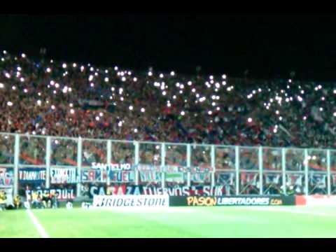 Recibiemiento de la hinchada de San Lorenzo ante Cruzeiro - La Gloriosa Butteler - San Lorenzo