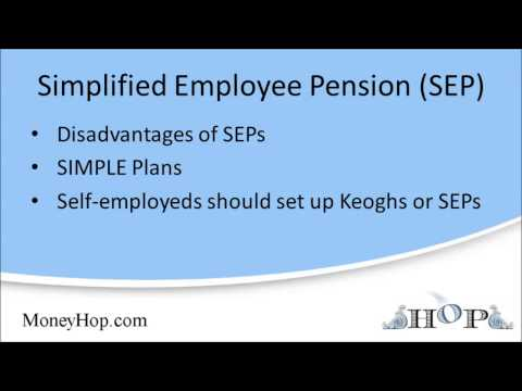 Simplified Employee Pension (SEP)