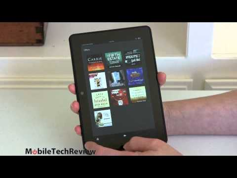 Amazon Kindle Fire HDX 7″ Tablet review