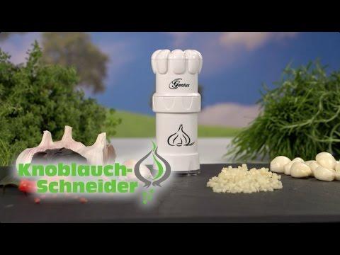 Knoblauchschneider-Set von Genius bei Angela Bruderer