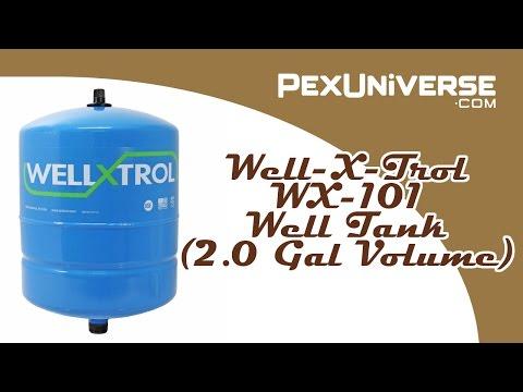Well-X-Trol WX-101 Well Tank (2.0 Gal Volume)