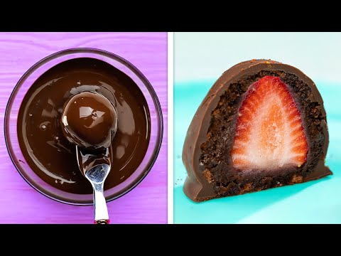 Mouth-Watering Dessert Ideas That Will Melt In Your Mouth    Chocolate, Fruit And Cake Recipes