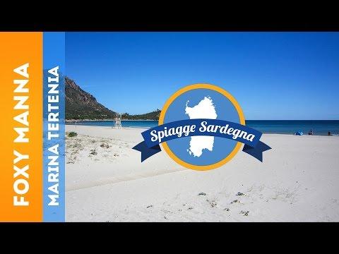 Spiaggia Foxy Manna, Marina di Tertenia - Sardegna (видео)