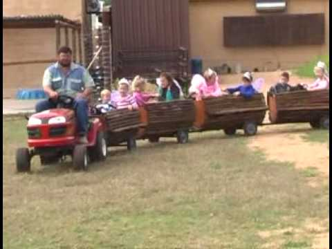 Sterkloop Polokwane tractor at children's party