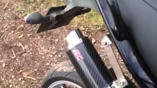 8. Triumph Tiger 1050 2008 Fuel race exhaust sound