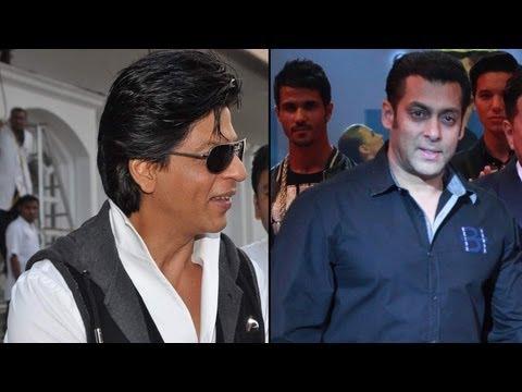 Salman Khan - Shah Rukh Khan To Clash On The Small