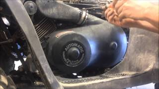 9. how to change a Drive Belt on a Polaris Magnum 325