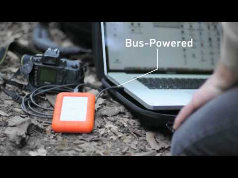 Lacie Rugged Usb 3 0 Thunderbolt Series Meeting The Deadline Video Mini