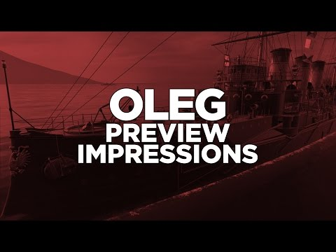 World of Warships - Oleg Preview Impressions