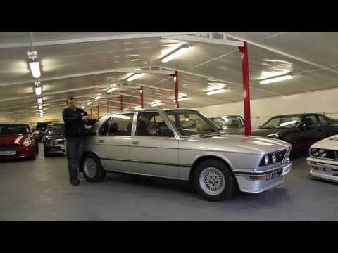BMW E12 - Classic Heroes Barney Halse talks about the birth of the Supersaloon, the BMW E12 M535i.