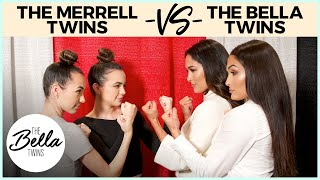 Video THE MERRELL TWINS battle THE BELLA TWINS in CELEBRITY! MP3, 3GP, MP4, WEBM, AVI, FLV November 2018