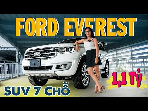 Ford Everest 2020 Titanium 2.0L AT 4x2 Giá 1,1 Tỷ   Mẫu SUV 7 Chỗ Đỉnh Cao   Gái Mê Xe