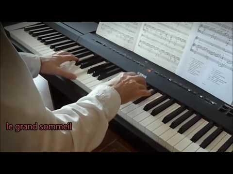 Un parfum de fin du monde (M. Legrand).  Piano et arrangements: André Caron