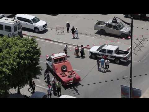تفجير شارع شارل دي غول: نواة على عين المكان