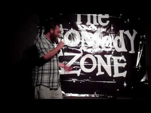 Colby Davis at the Comedy Zone