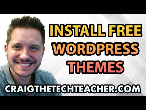 How To Download, Install and Activate Free WordPress Themes