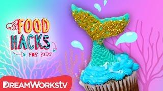 Mermaid Cupcake + Fairytale Princess Hacks! | FOOD HACKS FOR KIDS