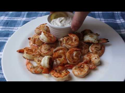 Wednesday's Recipe: Grilled Shrimp with Lemon Aioli
