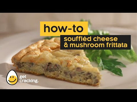 How-to: Souffléd Cheese and Mushroom Frittata