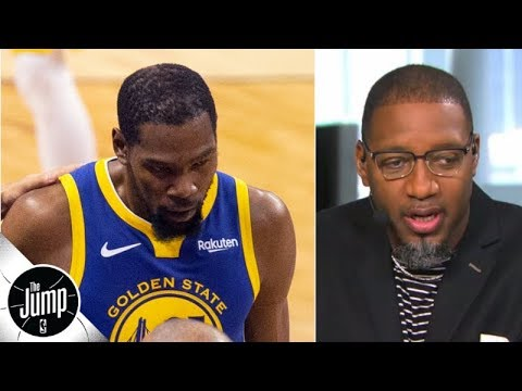 When Kevin Durant 'tried to be himself' in Game 5, it led to his injury - Tracy McGrady | The Jump