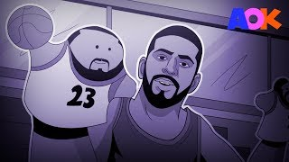 In the biggest story of the NBA offseason, Kyrie Irving asked to be traded from the Cleveland Cavaliers. Does Kyrie regret stabbing LeBron in the back? LYRIC...