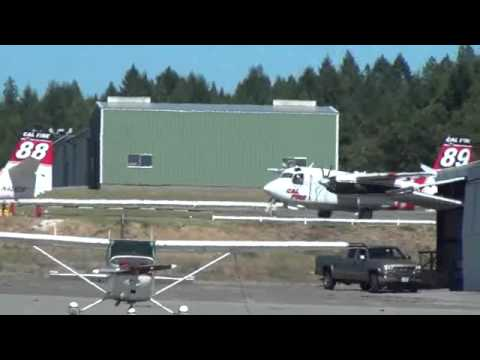 Cal Fire S-2 Tracker tankers 88...
