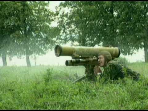 anti-tank system METIS M-1 (противотанковый комплекс Метис - М1) (видео)