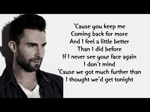 Maroon 5 - If I Never See Your Face Again ft.Rihanna | Lyrics Songs