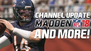 The plans for the future of the channel are being laid out and I'd love to know what you all think! I'll be doing things a little different in Madden NFL 18 and that starts with the FIRST full franchise on the channel. We'll of course be doing some other stuff with M18! Let me know what you think!If you guys and gals enjoyed the video make sure you leave a like and a comment letting me know you want to see more! Subscribe to stay in the loop!_______Twitter: https://twitter.com/Avenger2108Twitch: http://www.twitch.tv/avenger2108/profile