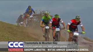 Trasmontaña de Mountain Bike