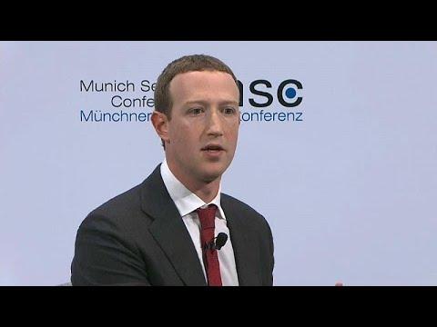 Datenschutz und freie Wahlen: Facebook-Gründer Zuckerberg in München