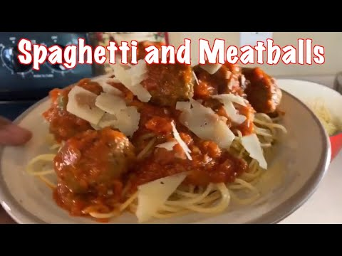 How to make Easy  Spaghetti & Meatballs