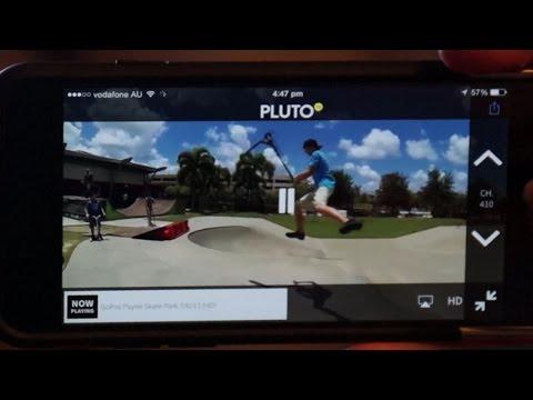 Pluto tv app