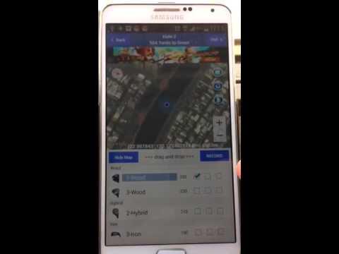 Video of Golf GPS Scorecard