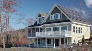 Net-Zero Energy Home, Sweden, Maine
