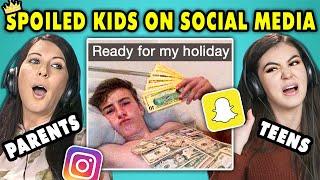 Video 10 Spoiled Kids Of Social Media w/ Teens & Their Parents   The 10s MP3, 3GP, MP4, WEBM, AVI, FLV Februari 2019
