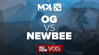 NewBee vs OG, game 1