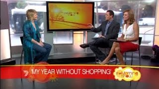 Video5: See Jill discussing her year without clothes shopping on Channel 7's Morning Show.