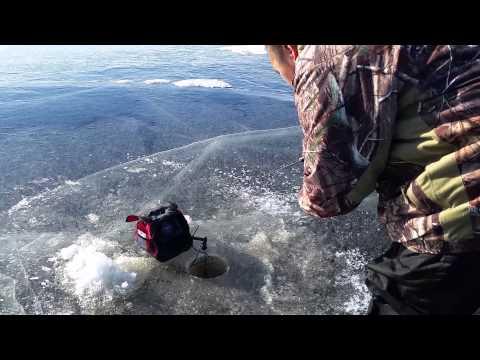 Hmong Ice Fishing @ Big Sandy Lake  12/6/2014