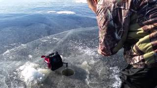 Hmong Ice Fishing @ Big Sandy Lake  12/6/2014