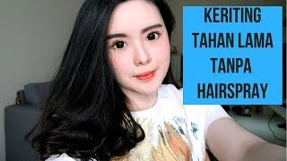 Video Cara catok keriting agar tahan lama tanpa hairspray (pake catokan lurus) MP3, 3GP, MP4, WEBM, AVI, FLV Desember 2018